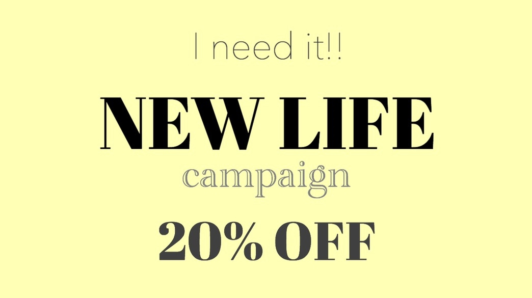 ◇online shop会員様限定20%OFFクーポンキャンペーン◇